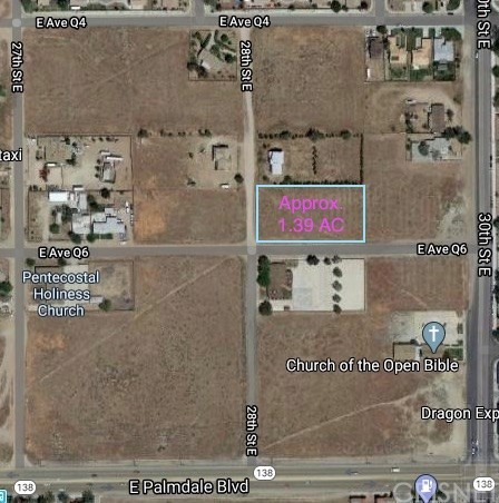 Land for sale in VAC/COR 28TH STE/AVE Q6, Palmdale, California ,93550