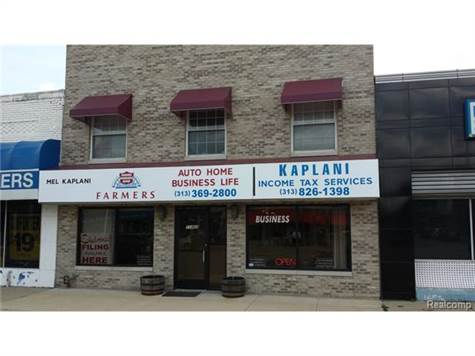 Commercial For Sale in 11402 JOSEPH CAMPAU ST, Hamtramck, Michigan ,48212-3041