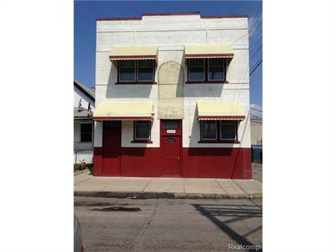Commercial For Sale in 2699 HOLMES ST, Hamtramck, Michigan ,48212-3036