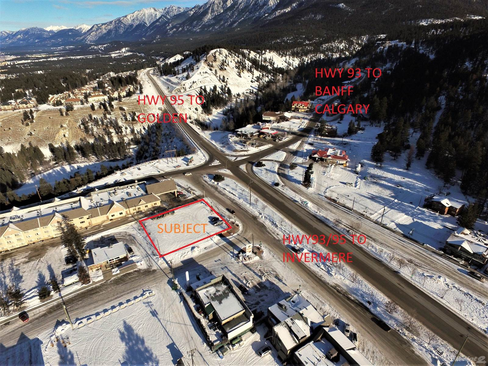 Commercial For Sale Radium Hot Springs, British Columbia 7497 Main Street W