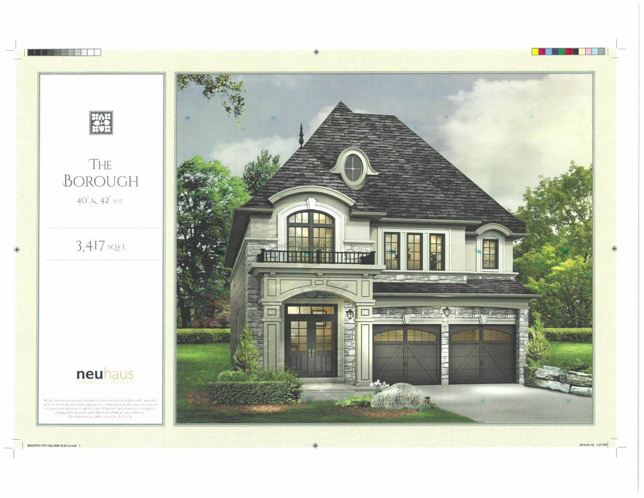 Residential For Sale in BRAND NEW Custom Home in Richmond Hill (3,417 sq.ft), RICHMOND HILL, Ontario ,L4C 4M3  , Canada