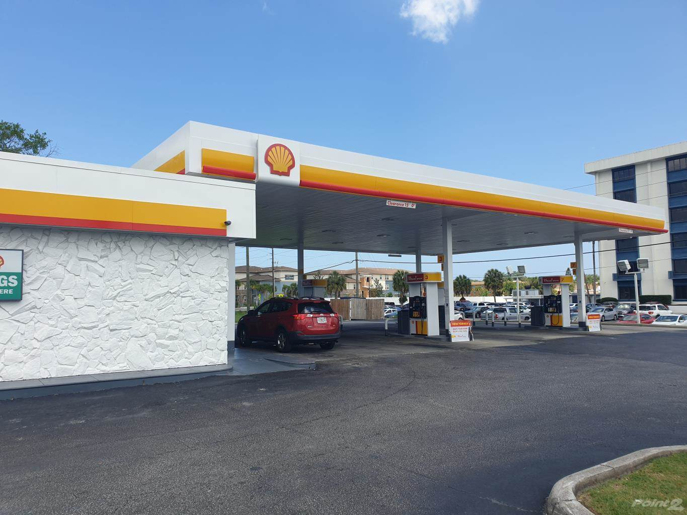 Commercial for sale in Branded High Volume Gas Station For Sale in Tampa Bay Florida USA, Trinity, Florida ,34691