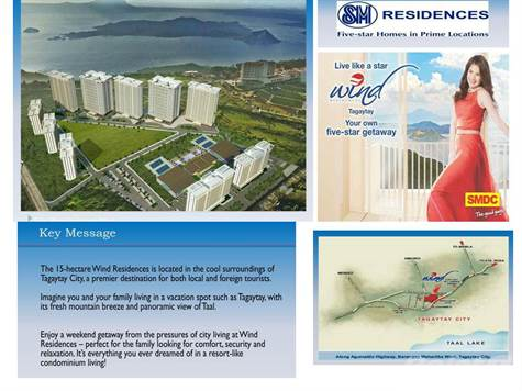 Apartment for sale in Wind Residences, Along Aguinaldo Highway, Maharlika West, Tagaytay City, Cavite, Tagaytay, Cavite ,4120  , Philippines