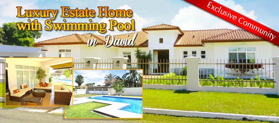 Residential For Sale in Luxury Estate Home with Swimming Pool in David, Panama –, David, Chiriquí   , Panama