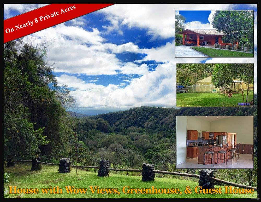 Residential For Sale in 8 Acre Boquete House, Palmira, Boquete, Panama, Boquete, Chiriquí   , Panama