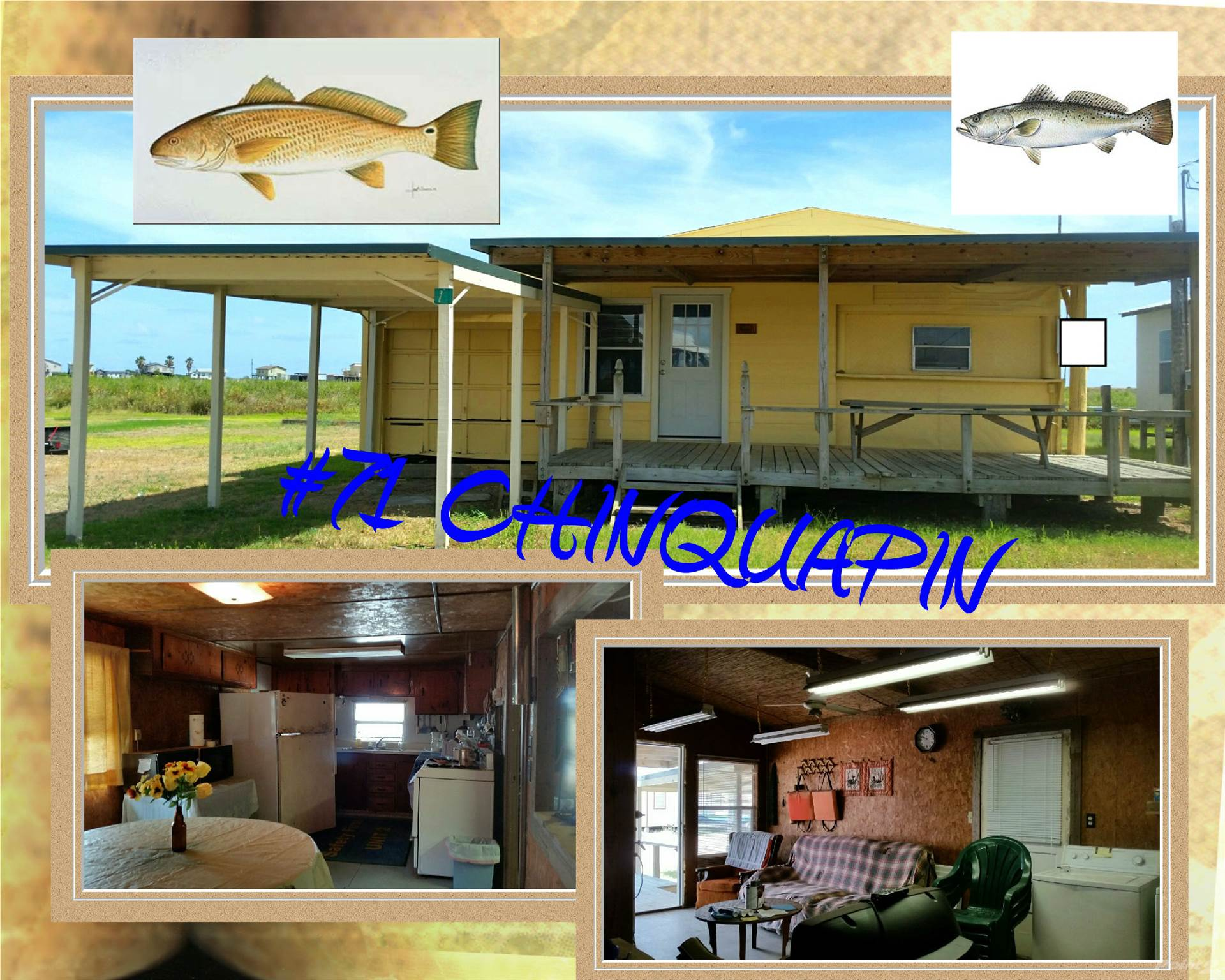 Residential For Sale in 71 CHINQUAPIN, Matagorda, Texas ,77457