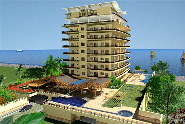 Condominium for sale in VILLA MONTANA - Hotel 10 floors Beach front Jaco, Jacó, Puntarenas ,0063  , Costa Rica