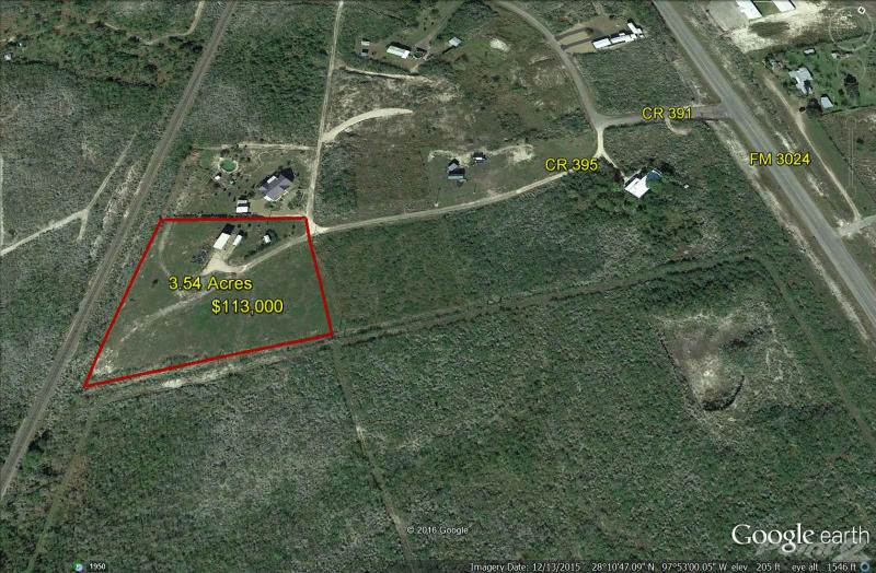 Land for sale in 119 County Road 395, Mathis, Texas ,78368