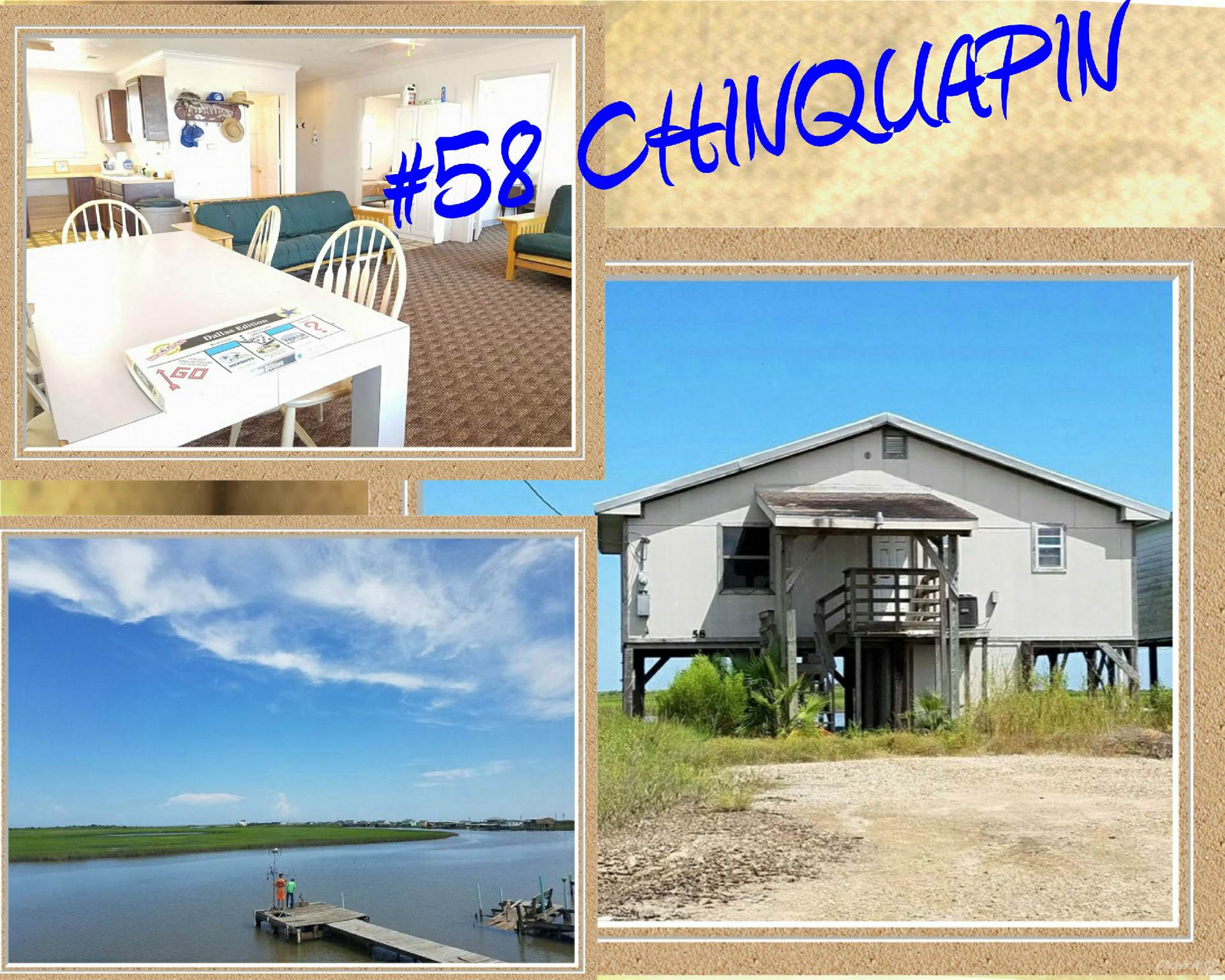 Residential For Sale in 58 CHINQUAPIN, Matagorda, Texas ,77457