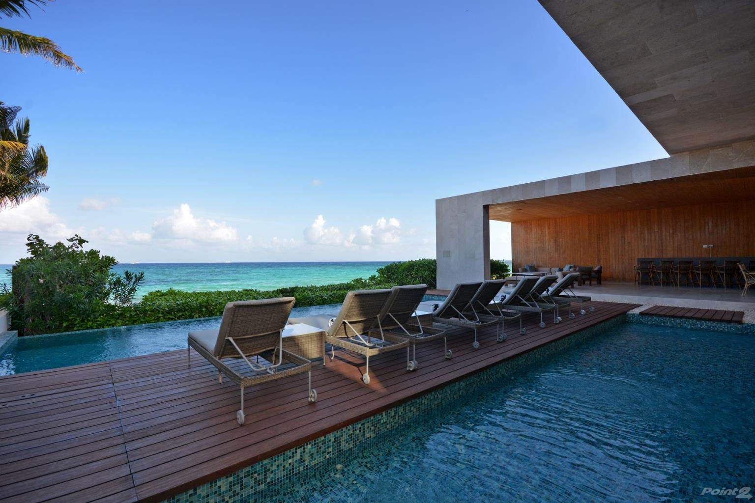 Residential For Sale in KIN ICH, LUXURIOUS BEACHFRONT RESIDENCE, Playa del Carmen, Quintana Roo   , Mexico
