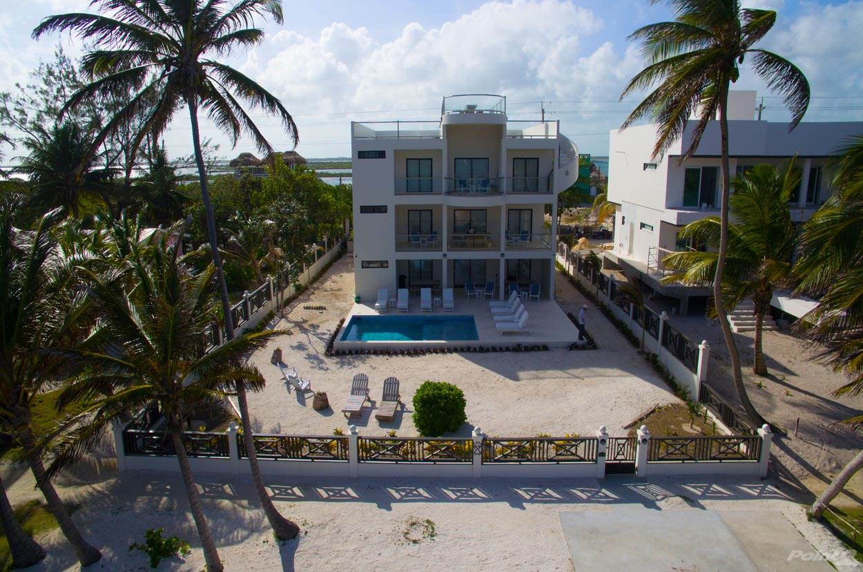 Residential For Sale in Beachfront Villa Tres Cocos, Ambergris Caye, Belize   , Belize