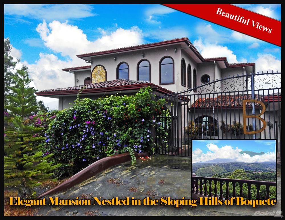 Residential For Sale in Mansion Nestled in the Sloping Hills of Boquete, Chiriqui, Boquete, Chiriquí   , Panama