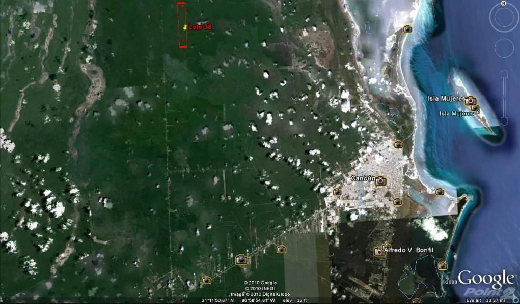 Residential For Sale in COMMERCIAL LAND FOR SALE WITH AUTHORIZED PROYECT IN ISLA MUJERES 474 HECTARES, Isla Mujeres, Quintana Roo   , Mexico