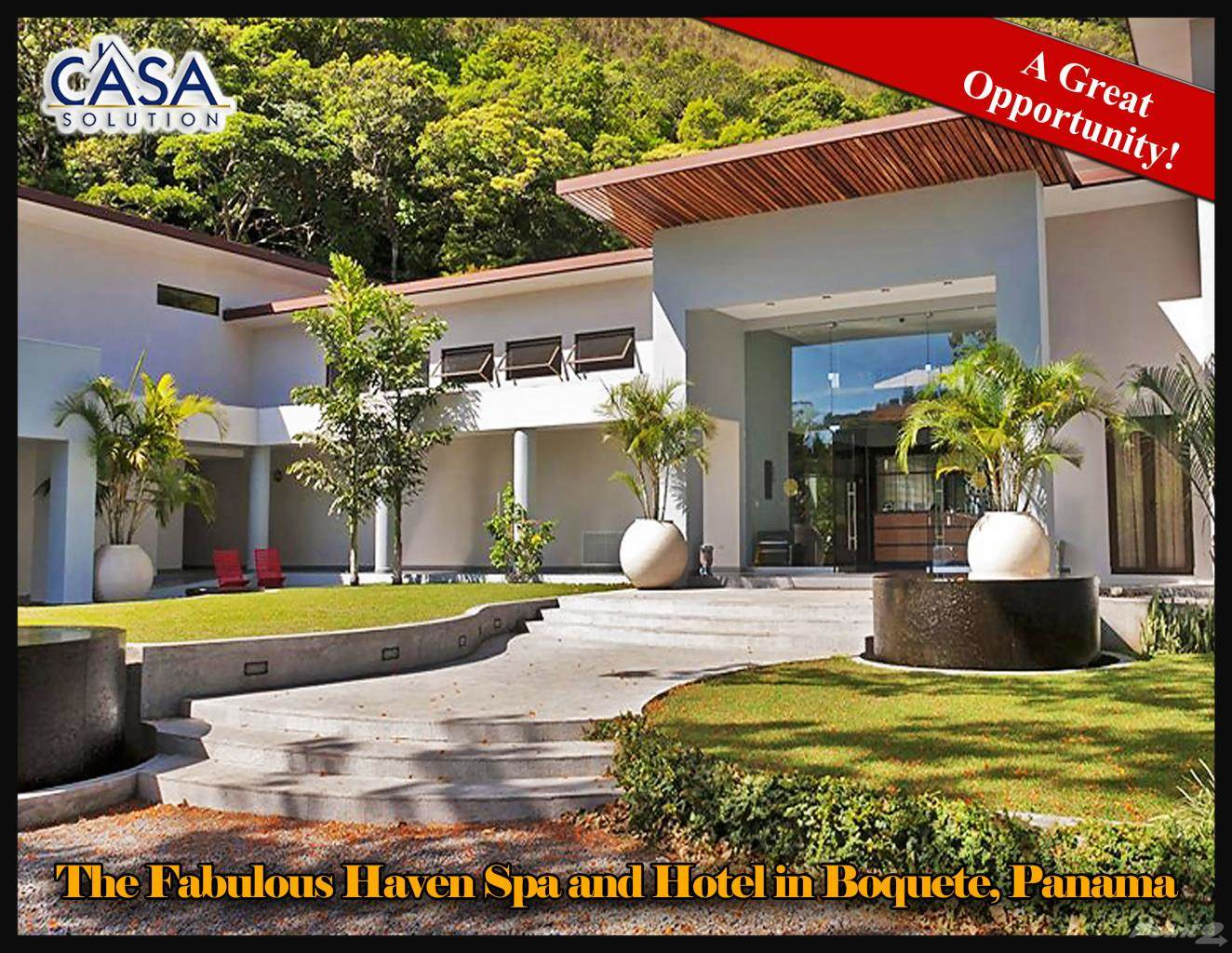 Residential For Sale in The Fabulous Haven Spa and Hotel in Boquete, Panama, Boquete, Chiriquí   , Panama
