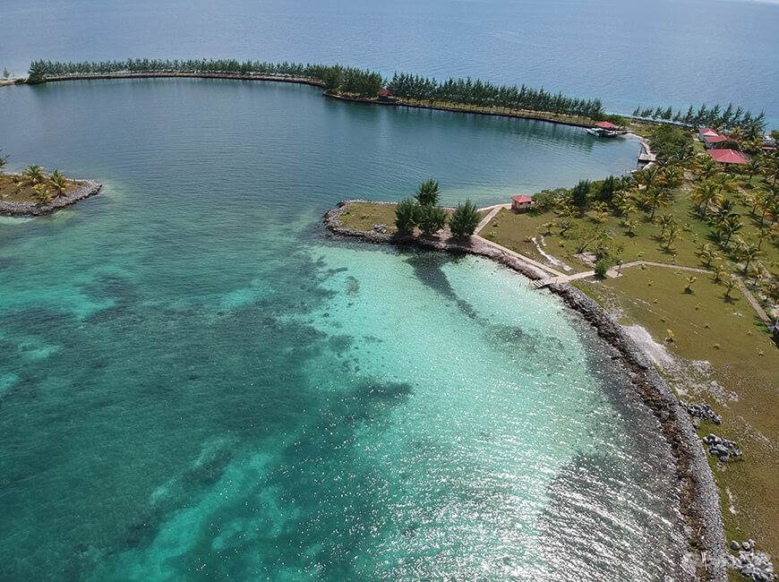 Residential For Sale in 40 Acre Island Paradise near Placencia| Belize beach property for sale, Placencia, Stann Creek   , Belize