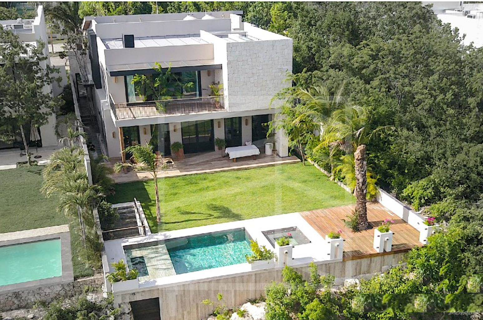 Residential For Sale in Lake front house, private pool, dock with access to the lake for kayaks, spa area and steam shower., Cancun, Quintana Roo ,77567  , Mexico