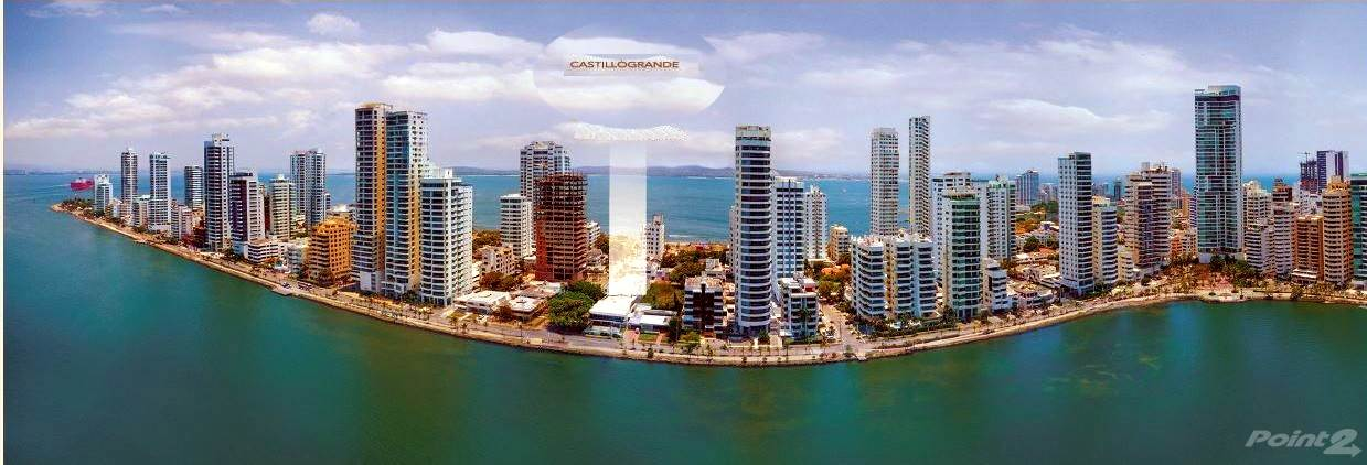 Residential For Sale in Venta de apartamentos frente al mar en Castillo Grande Cartagena. RV, Cartagena De Indias, Bolivar ,130001  , Colombia