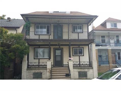 Multi Family for sale in 3320 HOLBROOK ST, Hamtramck, Michigan ,48212-3595