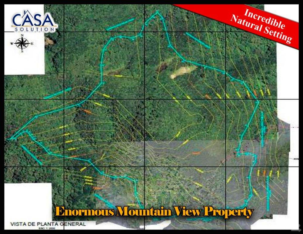 Residential For Sale in Enormous Mountain View Property with Lots of Beautiful Trees in Jaramillo, Boquete, Boquete, Chiriquí   , Panama