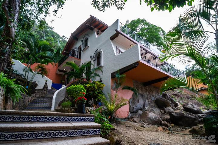 Residential For Sale in Boca de Tomatlan Ocean View beach front boat docks House and Cassita, Puerto Vallarta Boca de Tomatlan, Jalisco ,48380  , Mexico