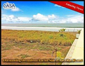 Residential For Sale in Price Reduction! Beachfront Building Site for Sale in Las Olas, La Barqueta, Chiriqui, Alanje, Chiriquí   , Panama
