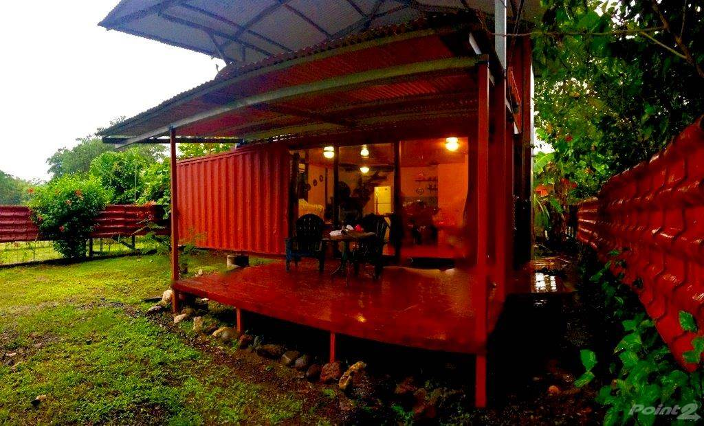 Residential For Sale in REDUCED! Tiny House 3 container one bedroom close to town, Playa Hermosa, Puntarenas ,61101  , Costa Rica