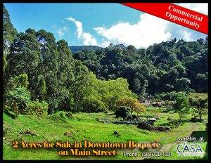 Residential For Sale in Center of Town Commercial Opportunity – 2 Acres for Sale in Downtown Boquete, Boquete, Chiriquí   , Panama