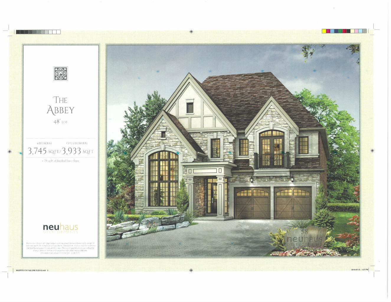 Residential For Sale in BRAND NEW Custom Home in Richmond Hill (3,745 sq.ft.), RICHMOND HILL, Ontario ,L4C 4M3  , Canada