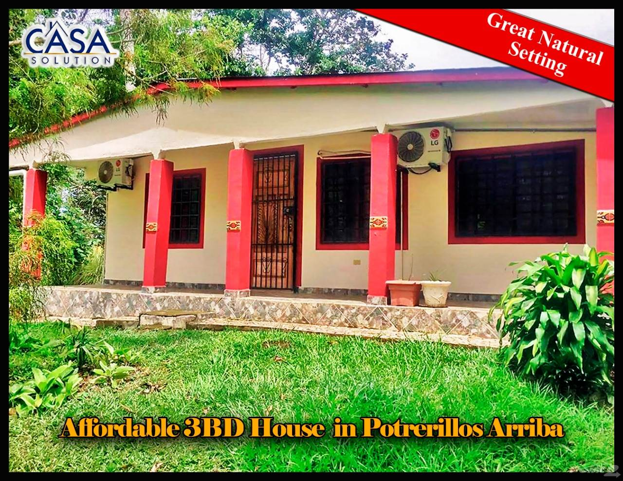 Residential For Sale in Fulfill on the Dream with this Nice Affordable 3BD House for Sale in Potrerillos-, Potrerillos, Chiriquí   , Panama