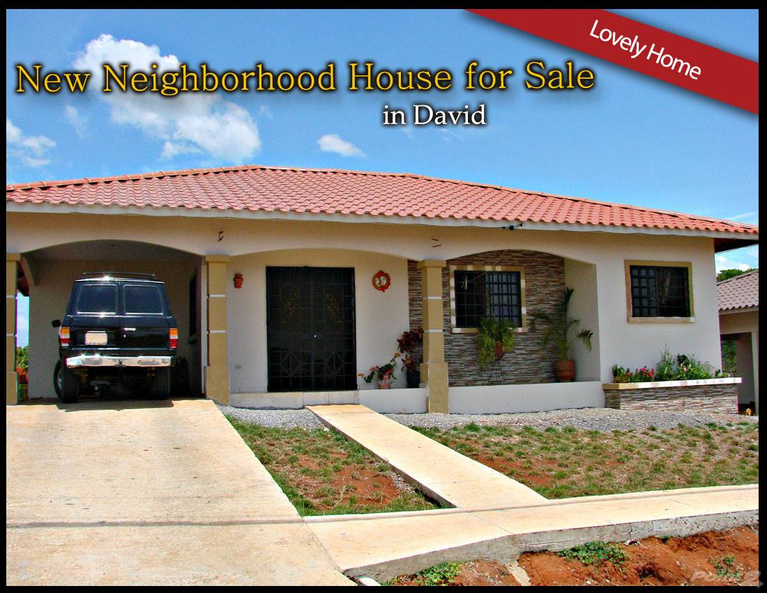 Residential For Sale in David Panama New Neighborhood House- for Sale, David, Chiriquí   , Panama