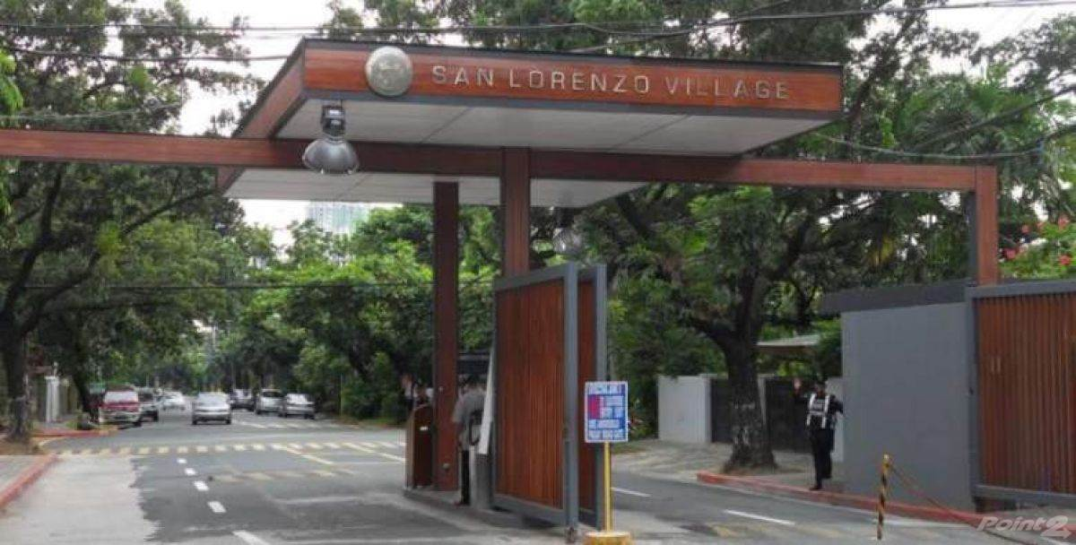 House for sale Makati, Philippines SAN LORENZO VILLAGE MAKATI HOUSE AND LOT FOR SALE