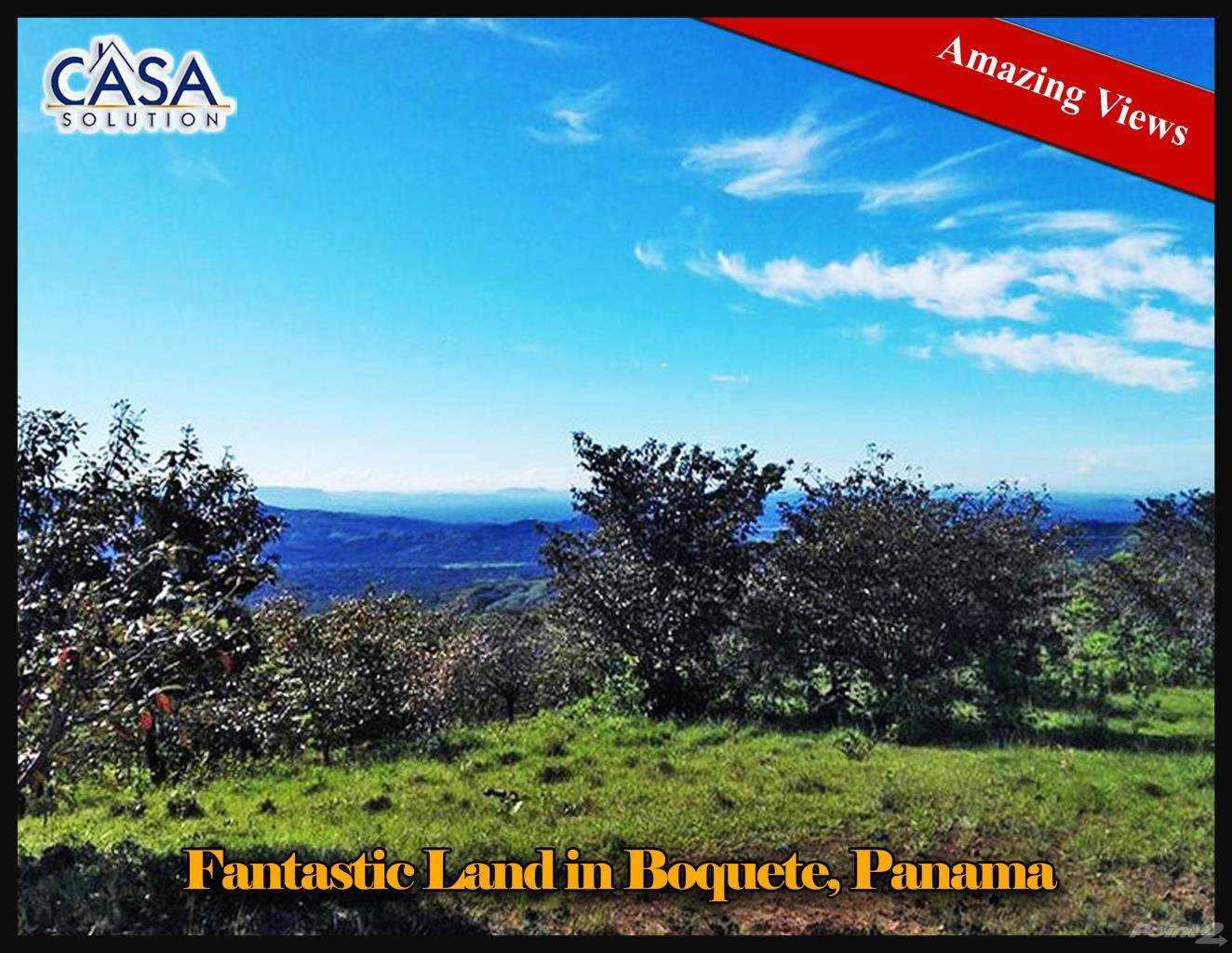 Residential For Sale in Fantastic View Land for Sale in Boquete, Boquete, Chiriquí   , Panama