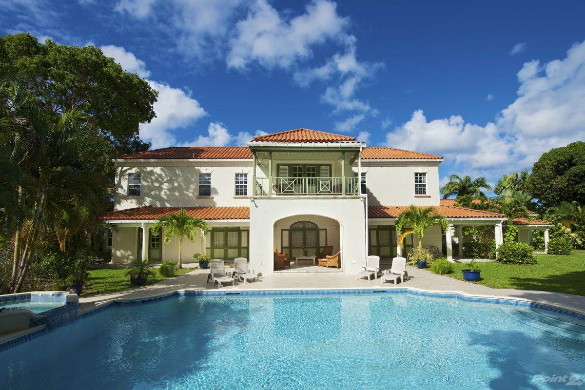 Residential For Rent in 5 Bedroom, 6 ½ Bathroom Villa in Sandy Lane – Magnolia, , St. James   , Barbados