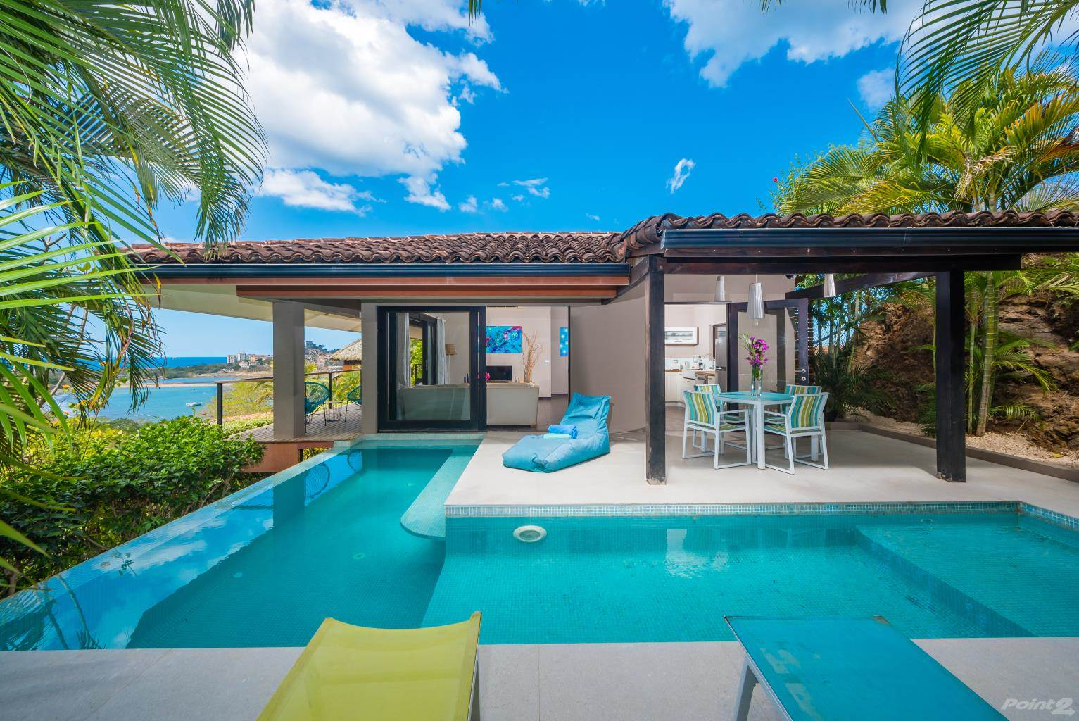 Residential For Sale in Casa Cielo, Colores de Pacifico - OCEAN VIEW & WALKABLE TO THE BEACH!, Playa Flamingo, Guanacaste   , Costa Rica