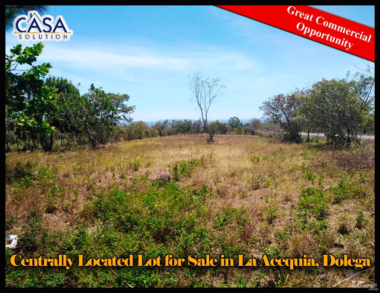Residential For Sale in Centrally Located Lot for Sale in La Acequia, Dolega on Main Road, Dolega, Chiriquí   , Panama