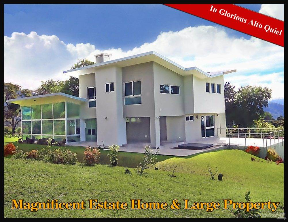 Residential For Sale in Magnificent & Private Estate Home & Large Property, Boquete, Chiriquí   , Panama