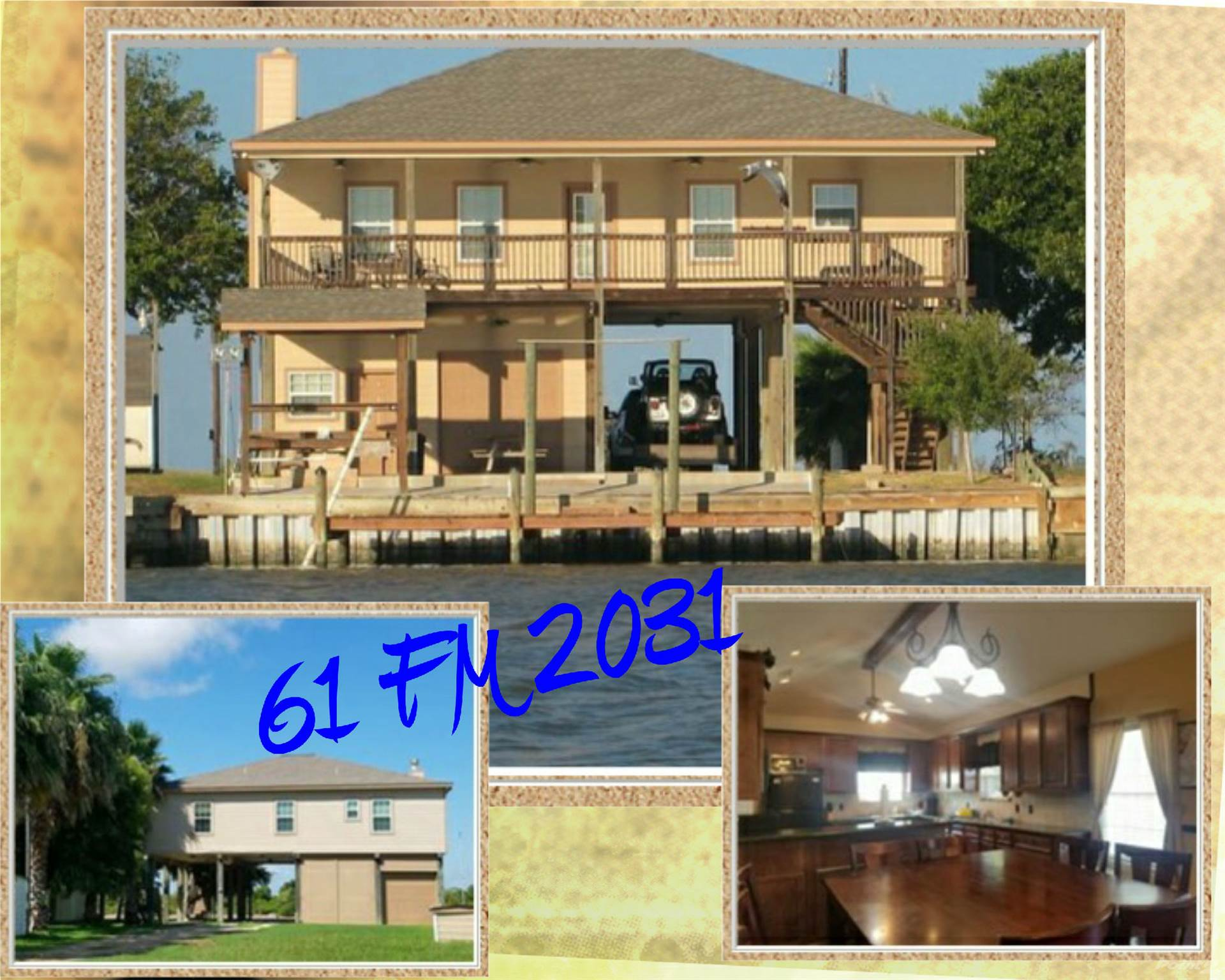 Residential For Sale in 61 FM 2031, Matagorda, Texas ,77457
