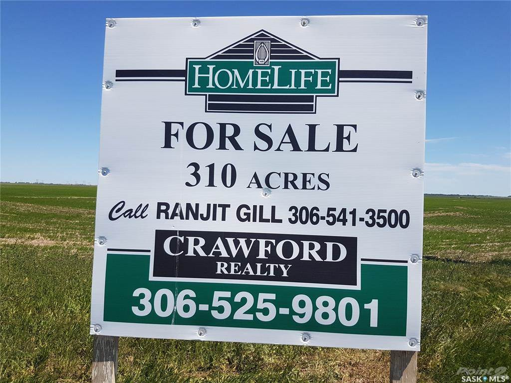 Farms & Ranches for sale in 309.81 ACRES - LAND ONLY, Sherwood Rm No. 159, Saskatchewan ,S4K 0A1  , Canada