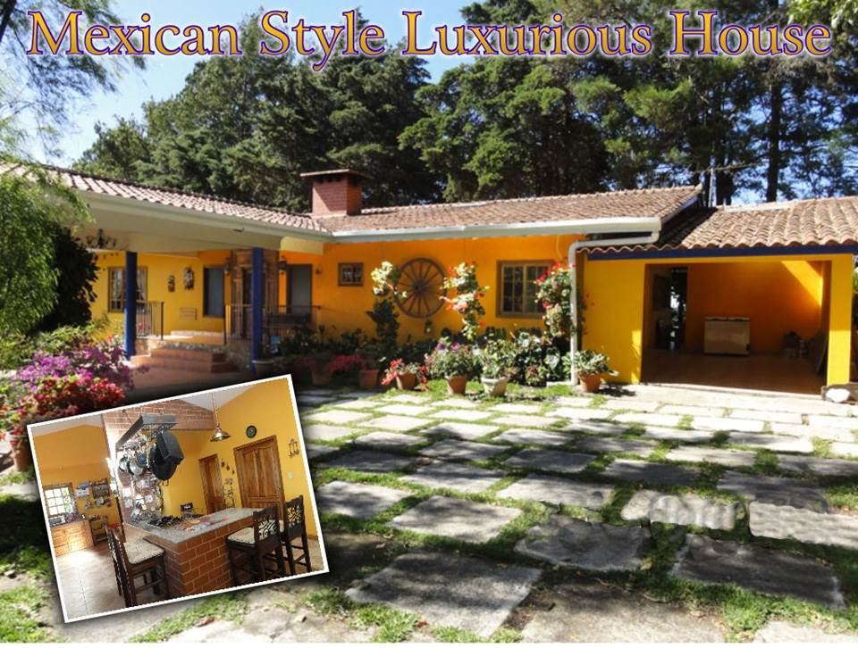 Residential For Sale in https://www.casasolution.com/listing/mexican-style-home-in-volcancito-boquete/, Boquete, Chiriquí   , Panama