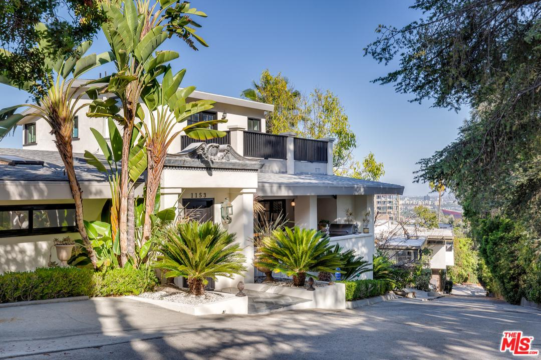 Single Family Home for sale in 1153 SUNSET HILLS Road, Los Angeles (City), California ,90069