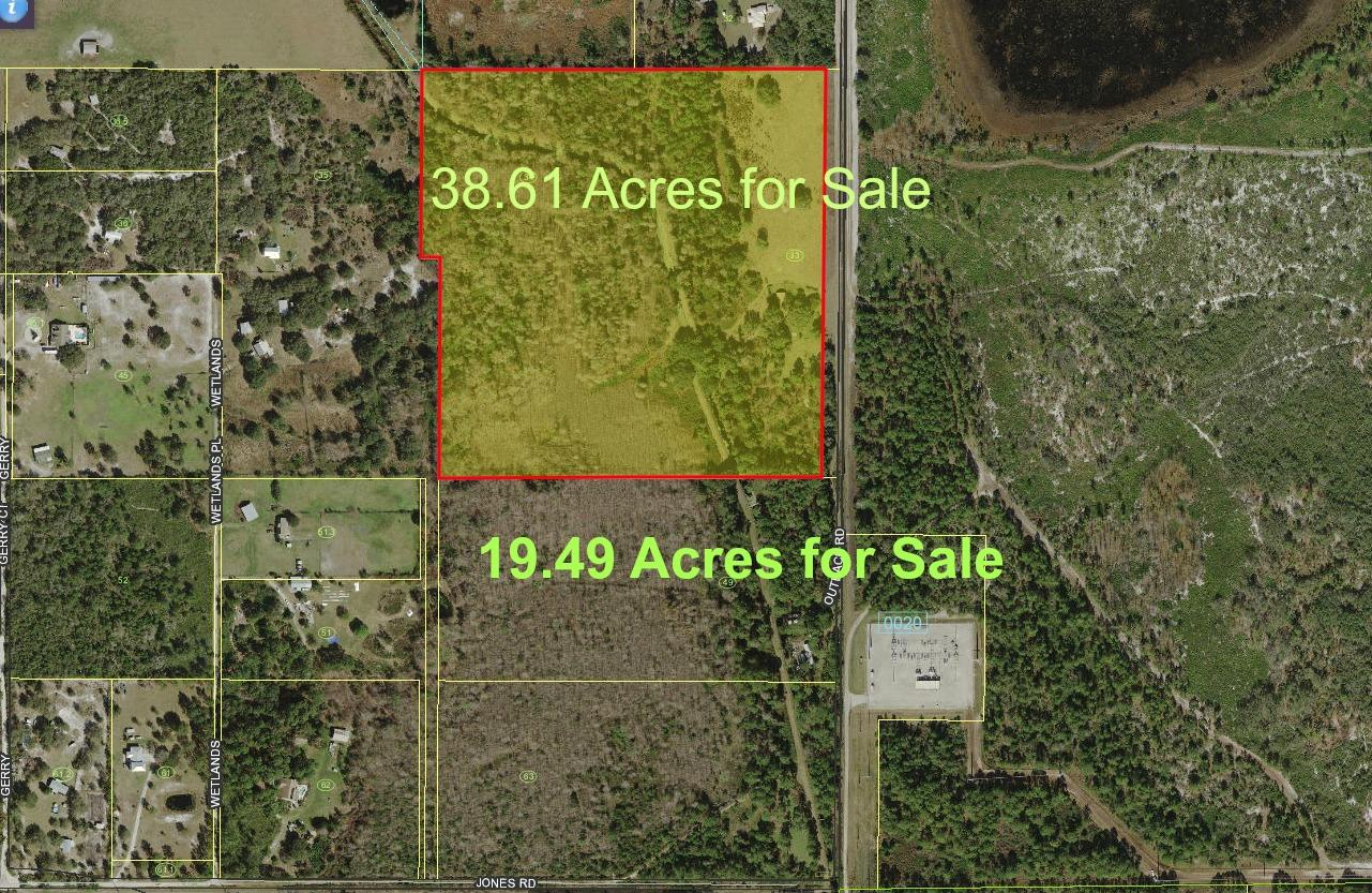 Land for sale in 500 Outback Road, St. Cloud, Florida ,34771