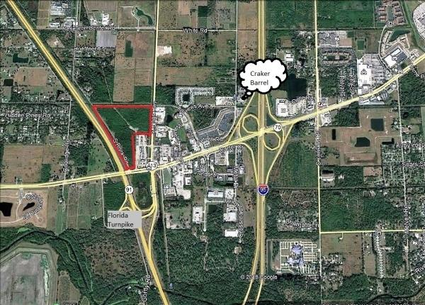 Land for sale in 7350 Okeechobee Road, Fort Pierce, Florida ,34945