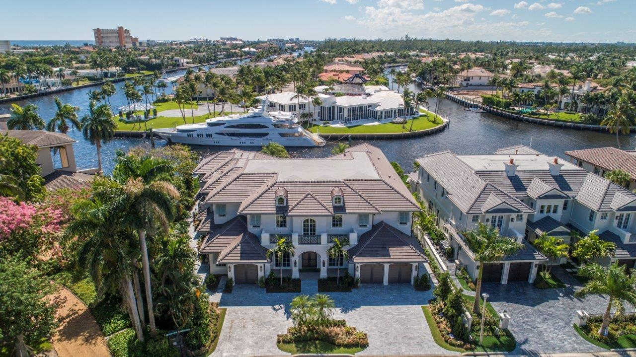 Single Family Home for sale in 484 S Maya Palm Drive, Boca Raton, Florida ,33432