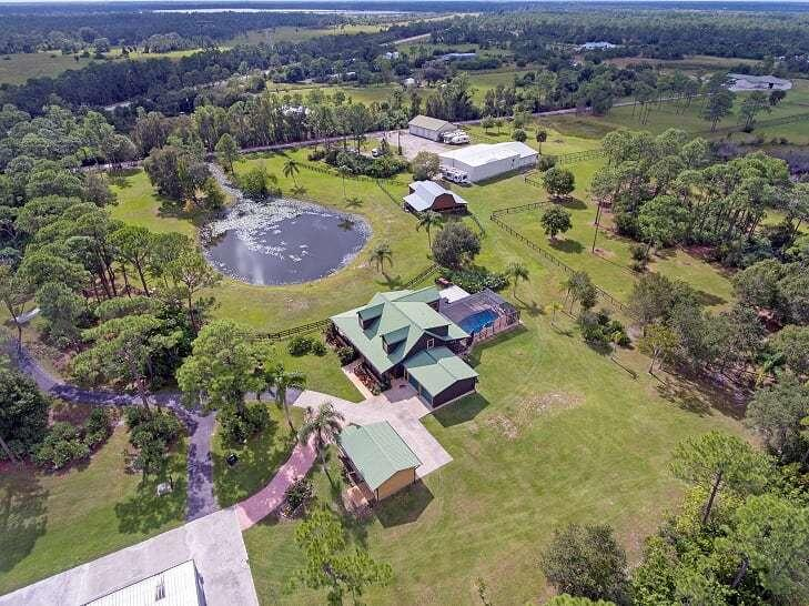 Single Family Home for sale in 18480 Glades Cut Off Road, Port Saint Lucie, Florida ,34987