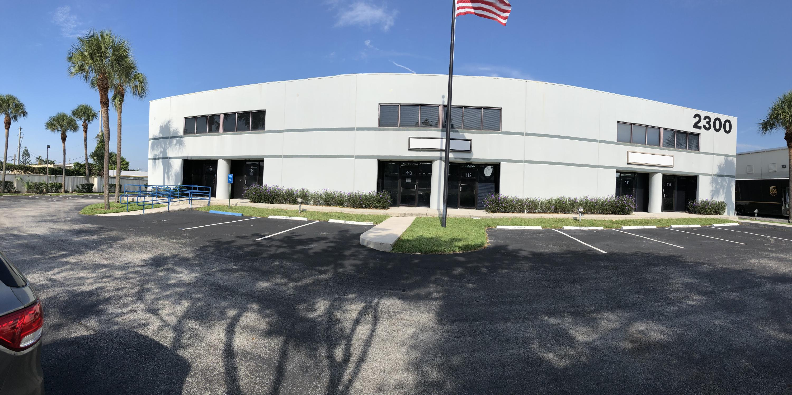 industrial for sale in 2300 NW 55th Court 110, Fort Lauderdale, Florida ,33309