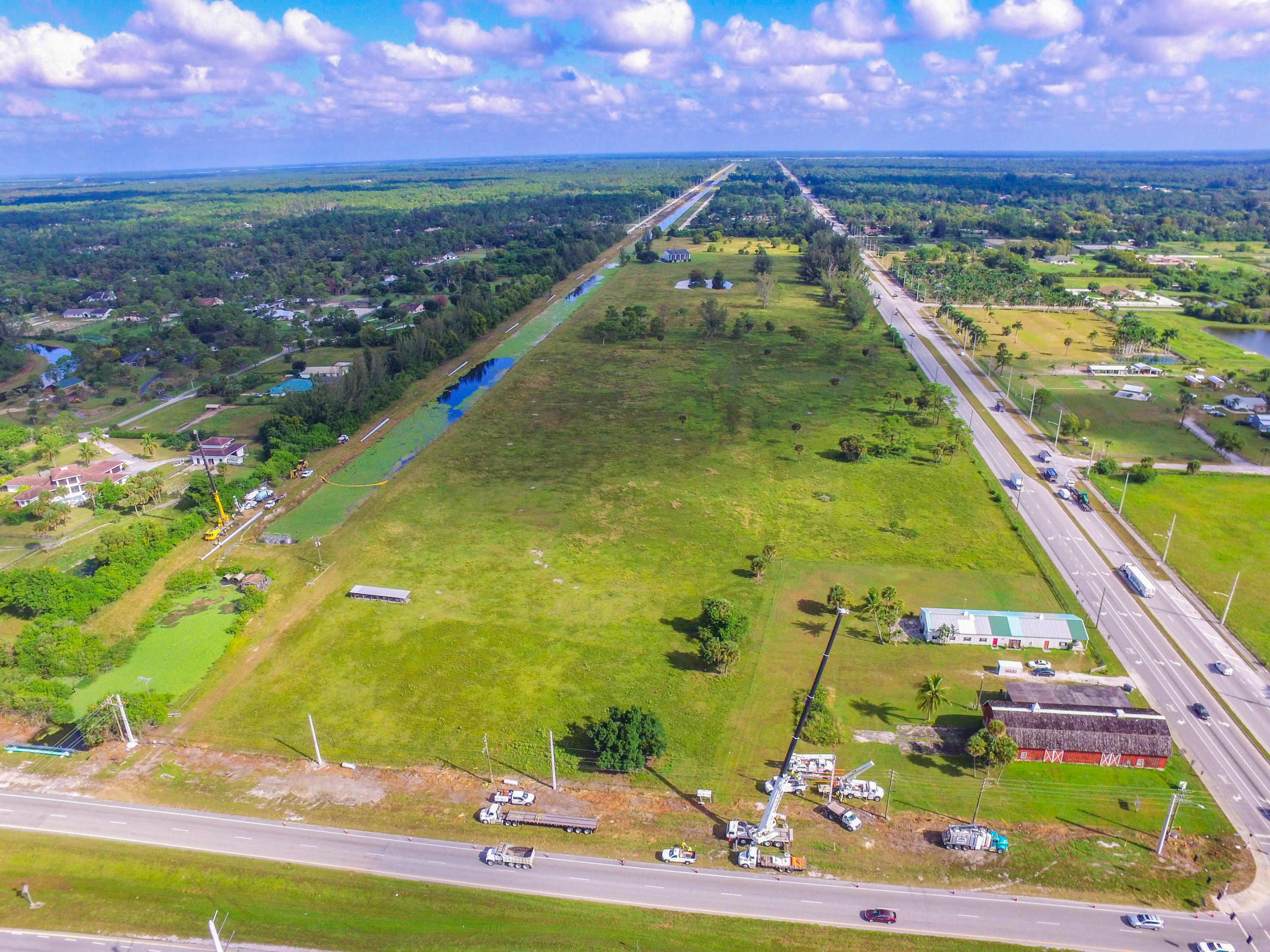 Land for sale Loxahatchee, Florida 35 Seminole Pratt Whitney Road
