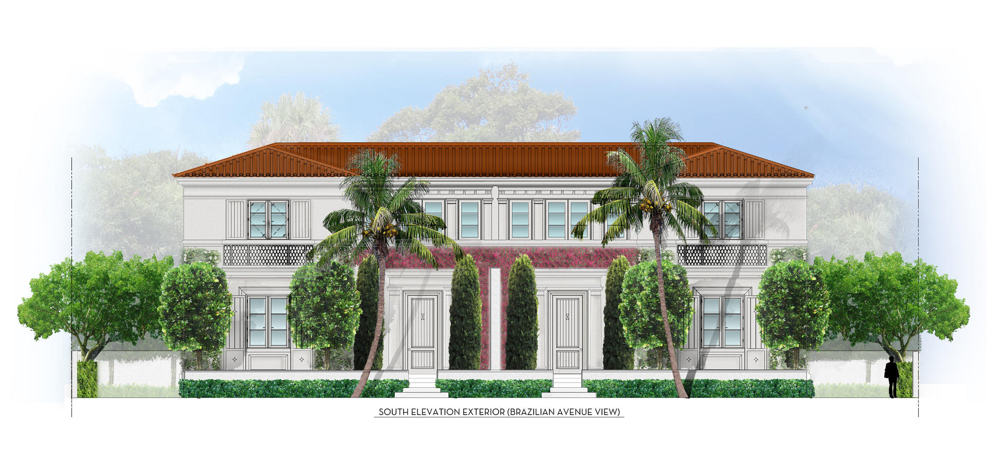 Townhouse/Row House for sale in 237 Brazilian Avenue 2 (West), Palm Beach, Florida ,33480