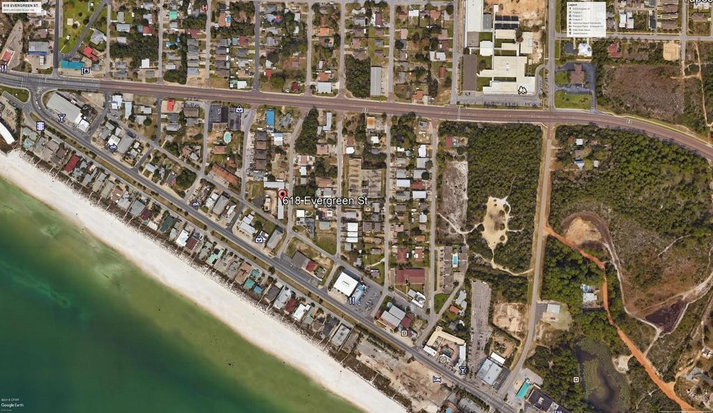 industrial for sale in 618 Evergreen Street, Panama City Beach, Florida ,32407