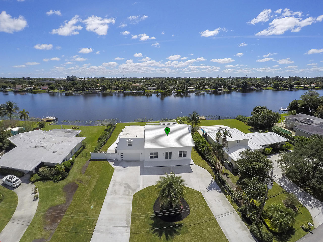 Single Family Home for rent in 7150 W Lake Drive, Lake Clarke Shores, Florida ,33406