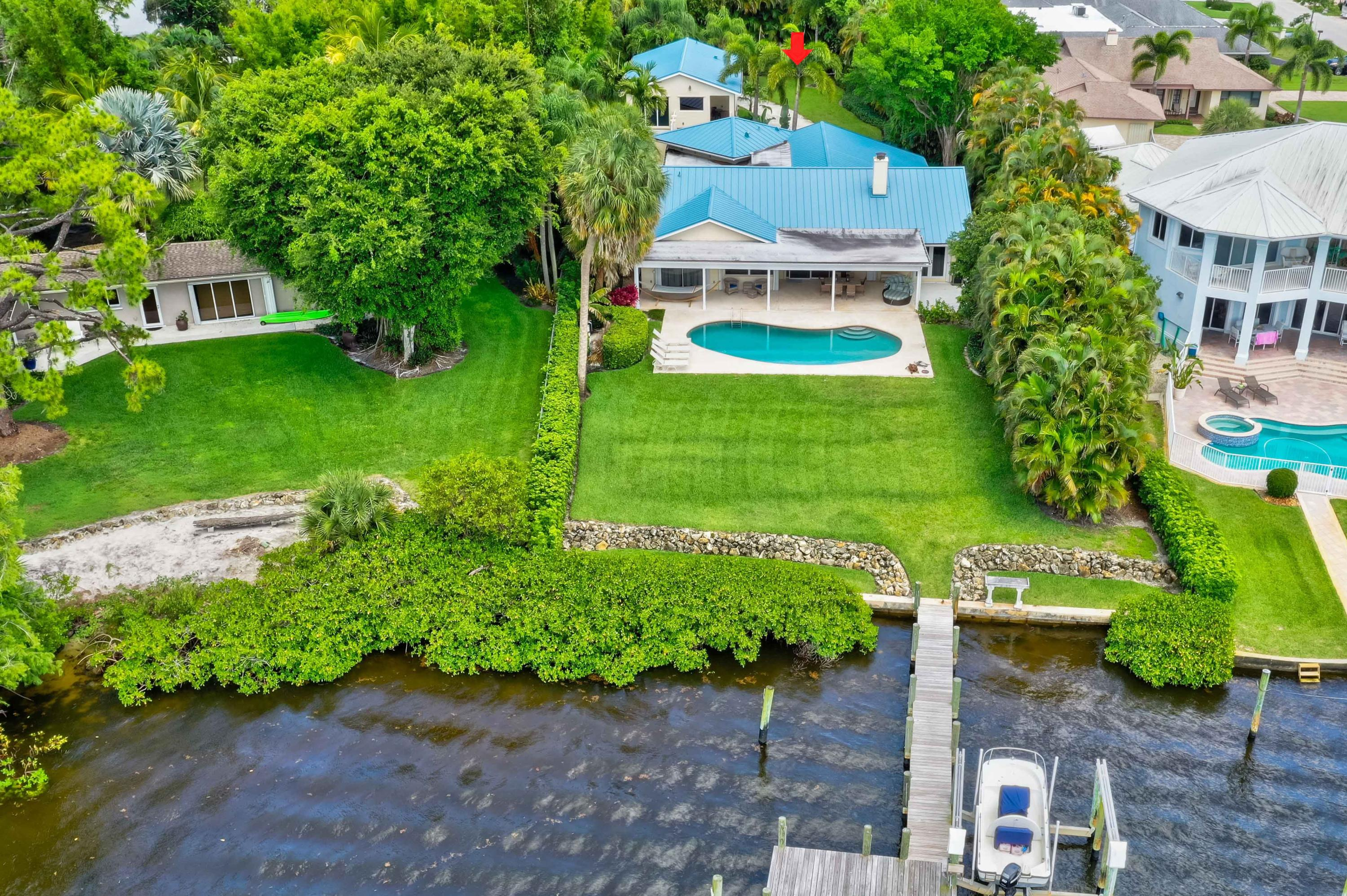 Single Family Home for sale in 9666 SE Landing Place, Tequesta, Florida ,33469
